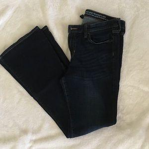 Gap Mid-rise Flare Dark Wash Denim Jeans 10 / 30 R